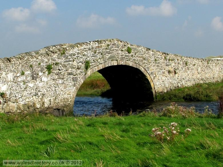 Enlarged picture of Aberffraw Bridge