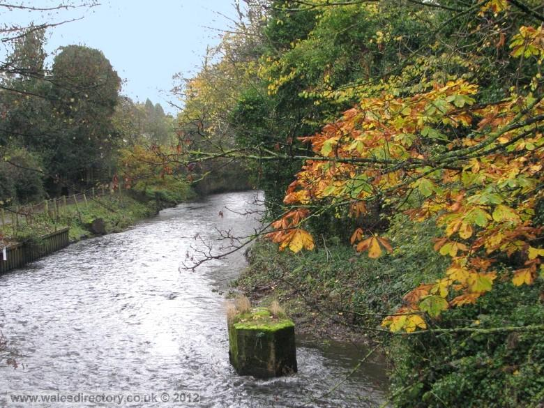 Enlarged picture of River Alyn at Rossett
