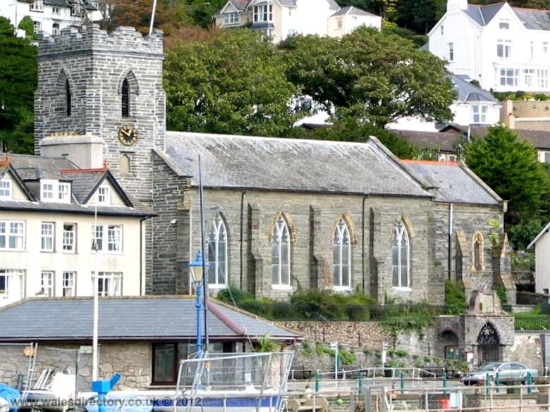 Enlarged picture of St Peter's Church Aberdyfi