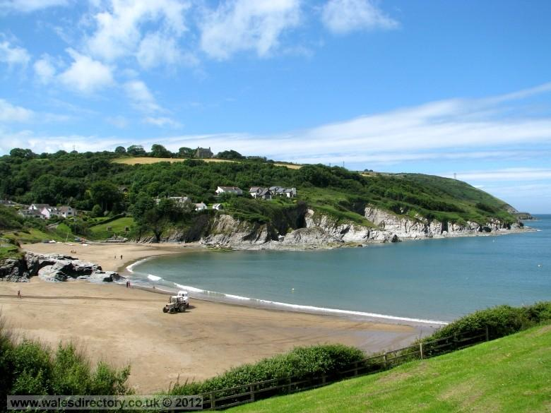Enlarged picture of Aberporth Bay