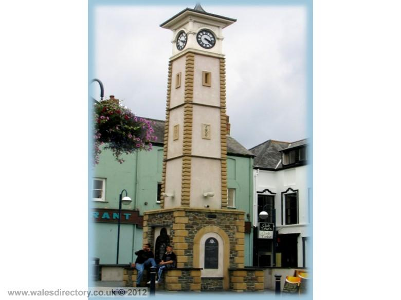 Enlarged picture of Clock Tower