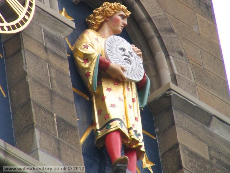 Enlarged picture of Statue of Sol Cardiff Castle