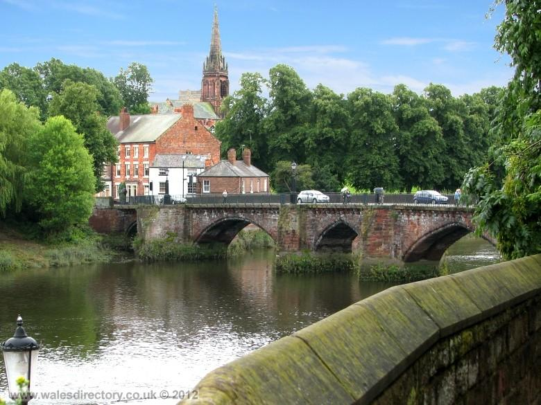 Enlarged picture of River Dee at Chester