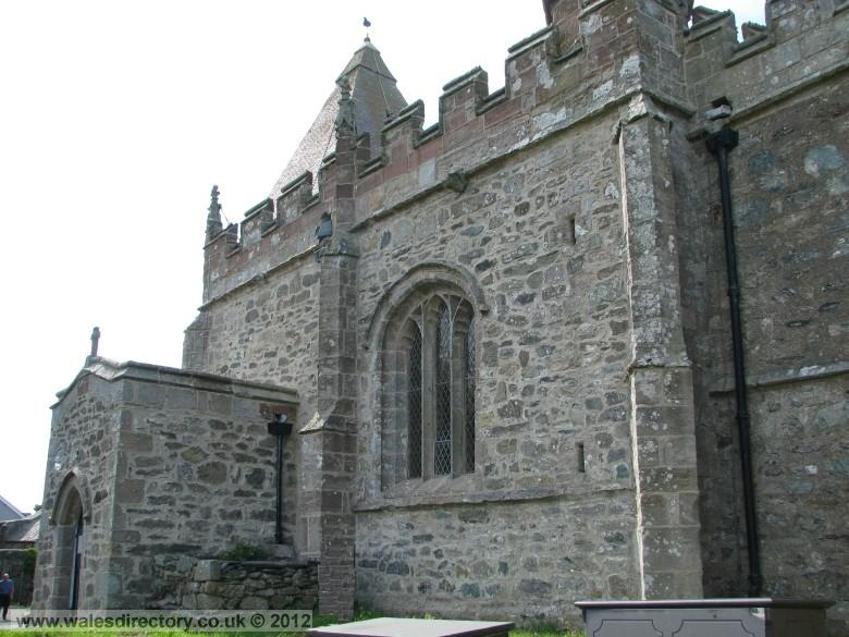 Enlarged picture of South Elevation of Llaneilian Church