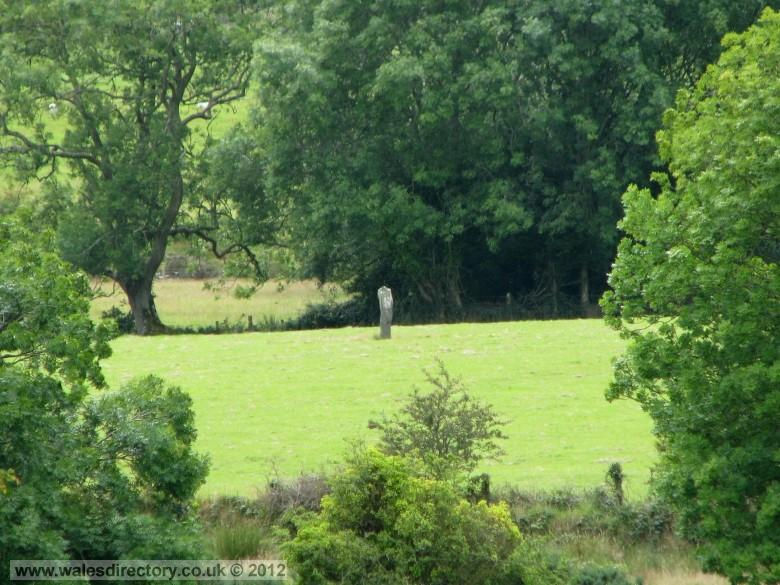 Enlarged picture of Lone Standing Stone Llanfechell